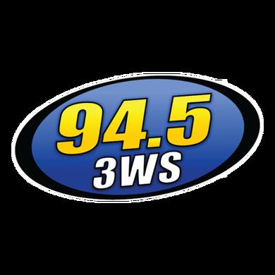 94.5 3WS logo