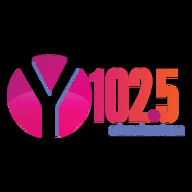 Y102.5 Charleston logo