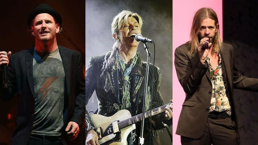 Taylor Hawkins And Corey Taylor Join David Bowie Tribute Lineup
