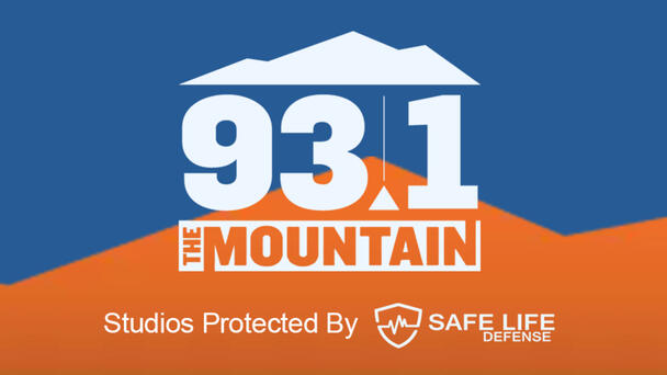 93.1 The Mountain Studios Protected By Safe Life Defense - Listen Now!