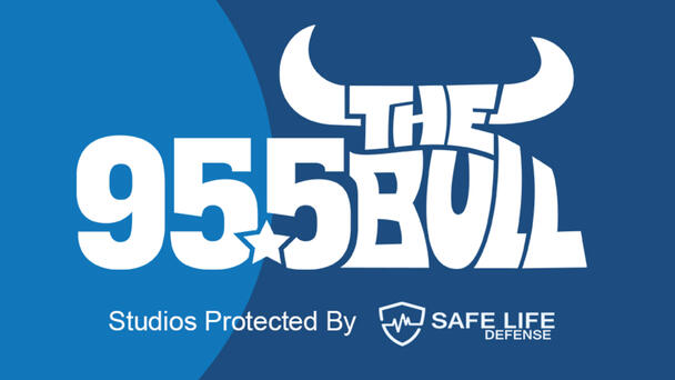 95.5 The Bull Studios Protected By Safe Life Defense - Listen Now!