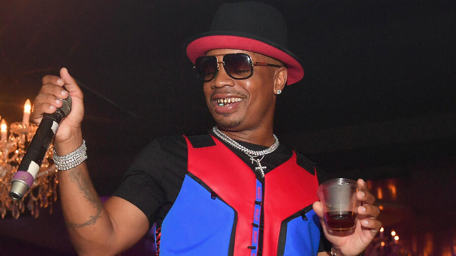 Plies Shows Off His New Smile After Burying His Signature Gold Teeth