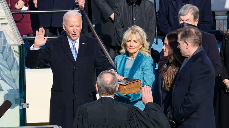 Reaction to Joe Biden's inauguration comes in from around Agriculture