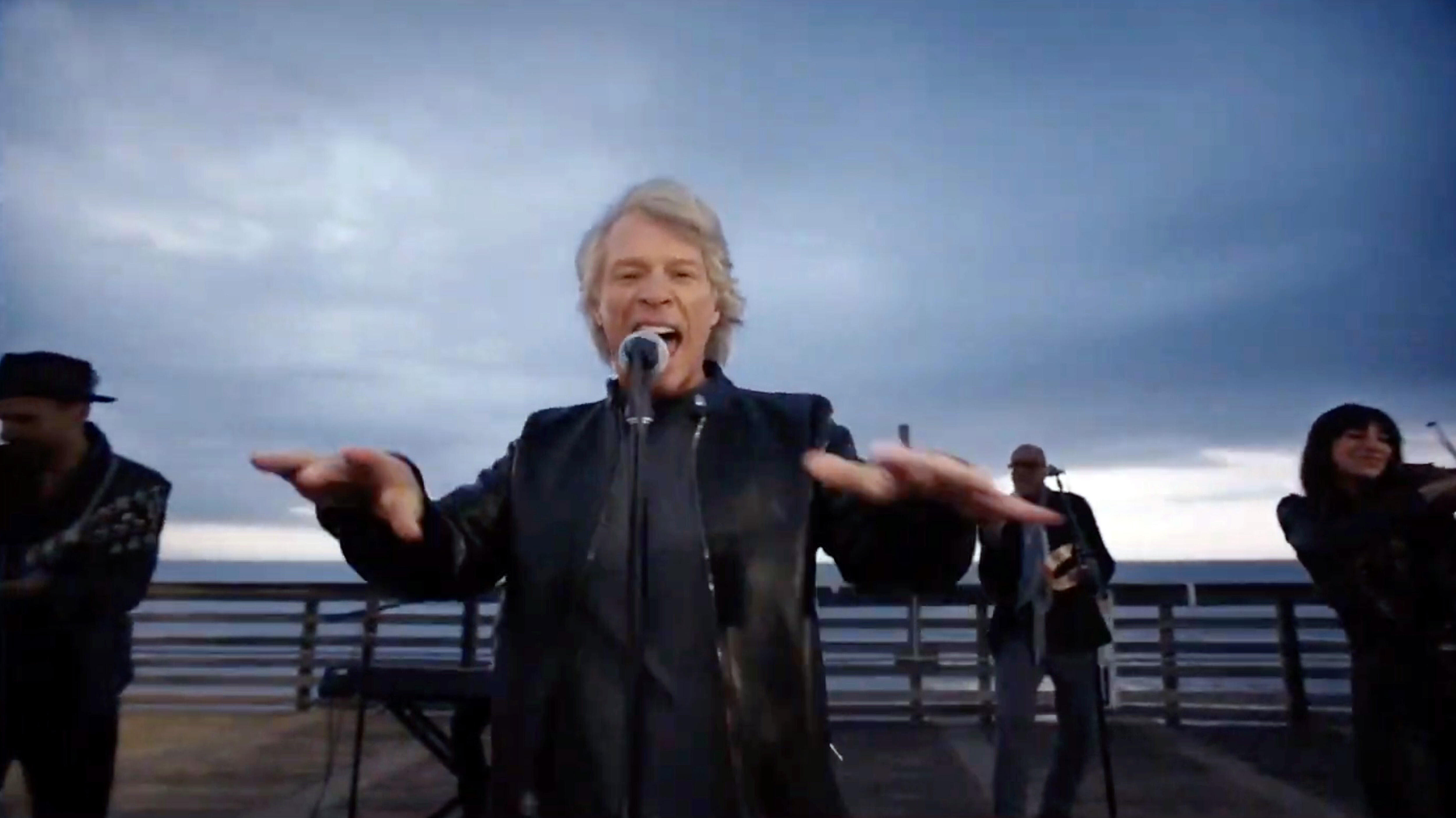 Twitter Quipped Along To Jon Bon Jovi's Inauguration Special Beatles Cover