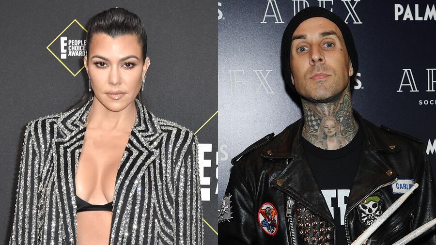 Kourtney Kardashian & Travis Barker Get Undressed For PDA-Heavy Photo