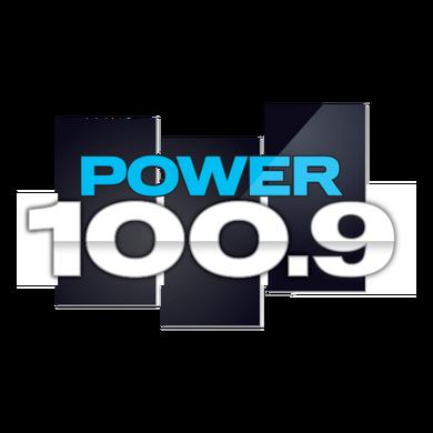 Power 100.9 logo