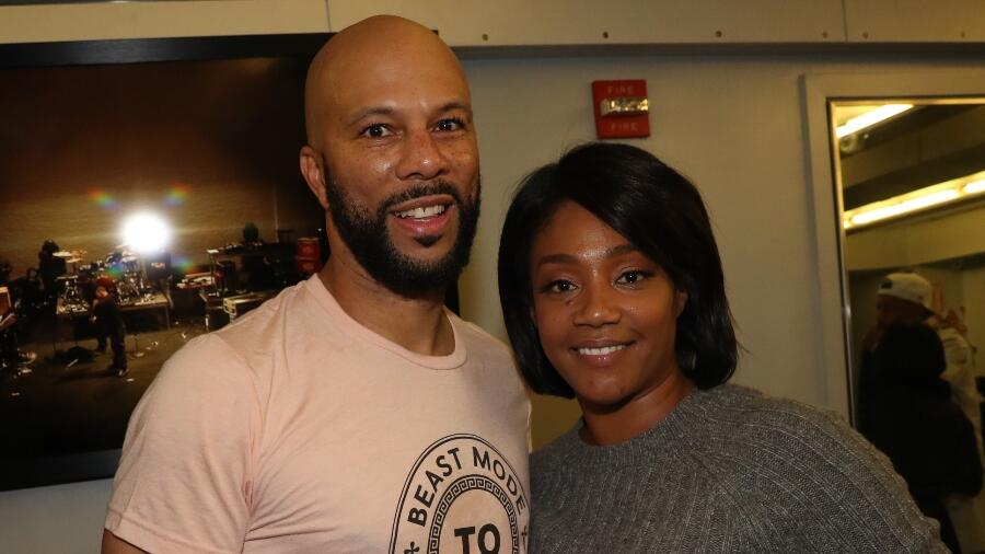 Tiffany Haddish & Common Win 'Silhouette Challenge' With Hot & Steamy Video