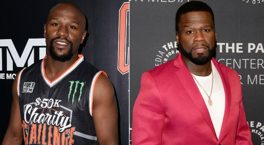 Floyd Mayweather Responds To 50 Cent's Boxing Match Challenge