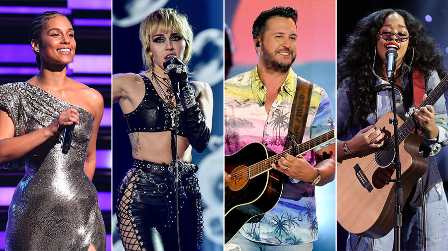 Alicia Keys, Miley Cyrus, Luke Bryan & More Heading To Post-Super Bowl Show