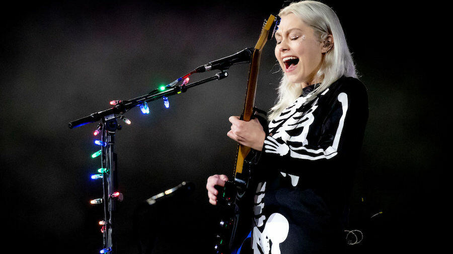 Phoebe Bridgers' Infamous 'SNL' Smashed Guitar Is Up For Auction