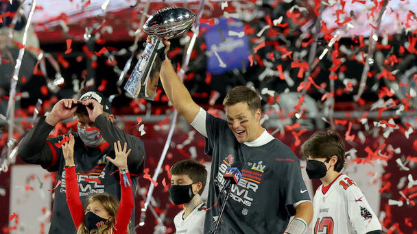 WATCH: Tom Brady Receives 7th Super Bowl Ring And His Reaction Is Priceless