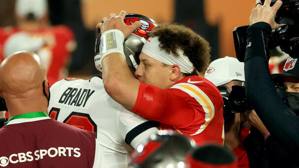 Here's Why Fans Think Brady, Mahomes Will Be On The Next 'Madden' Cover