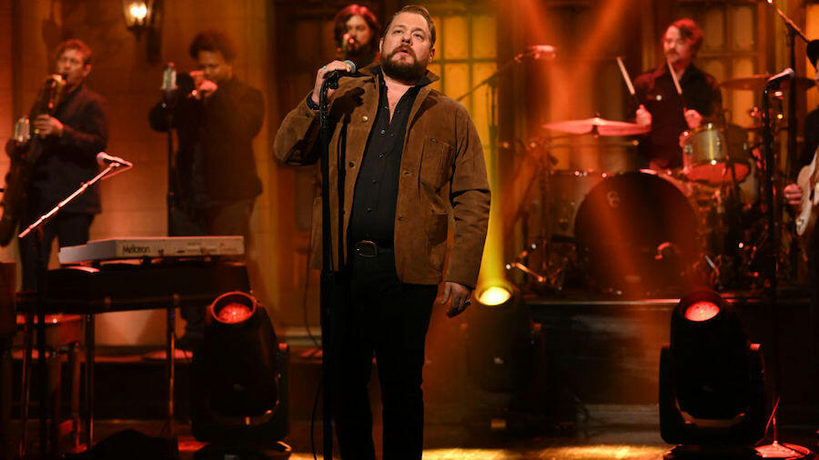 Nathaniel Rateliff & The Night Sweats Impress on 'SNL' Debut: Watch