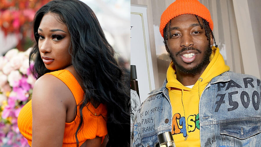 Megan Thee Stallion & New BF Pardison Fontaine Have PDA-Filled IG Live