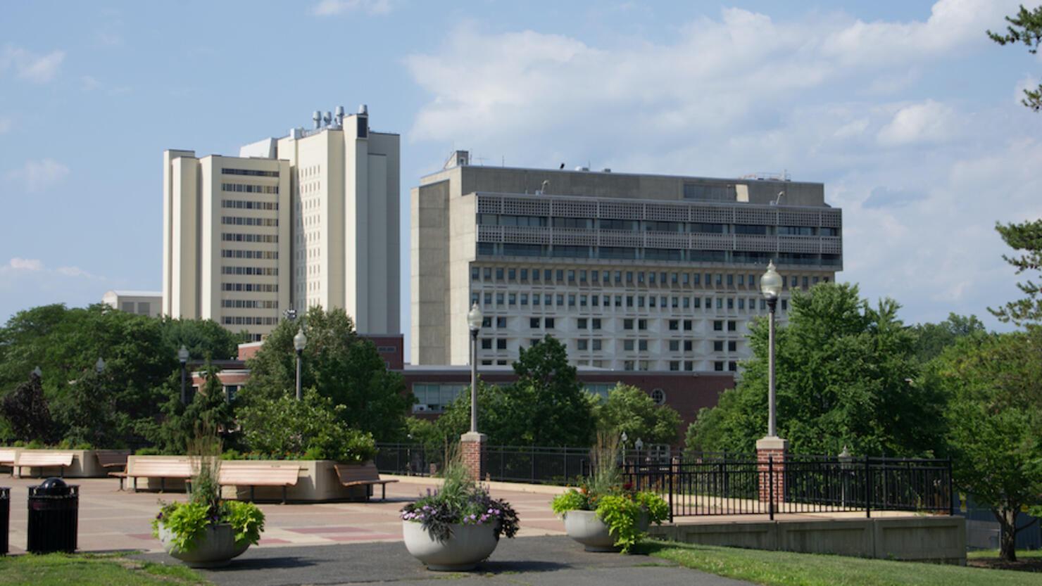 School buildings at UMass Amherst