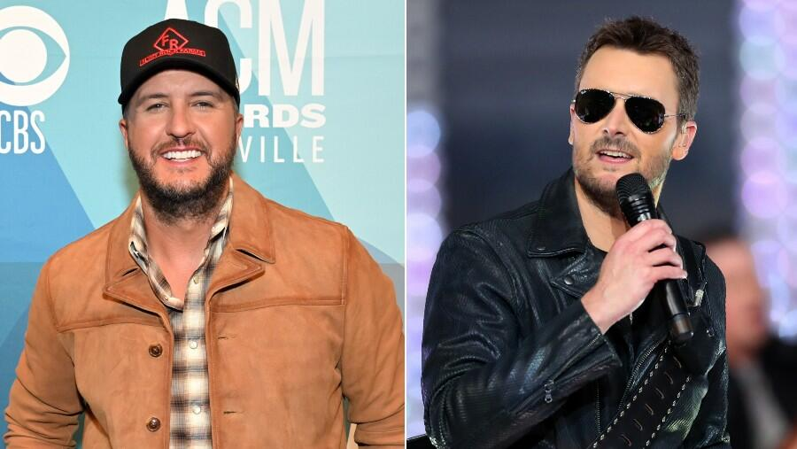 What Luke Bryan Texted Eric Church After His Super Bowl National Anthem Set