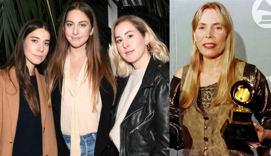 HAIM Explains How Joni Mitchell's 'Miles Of Aisles' Changed Their Lives