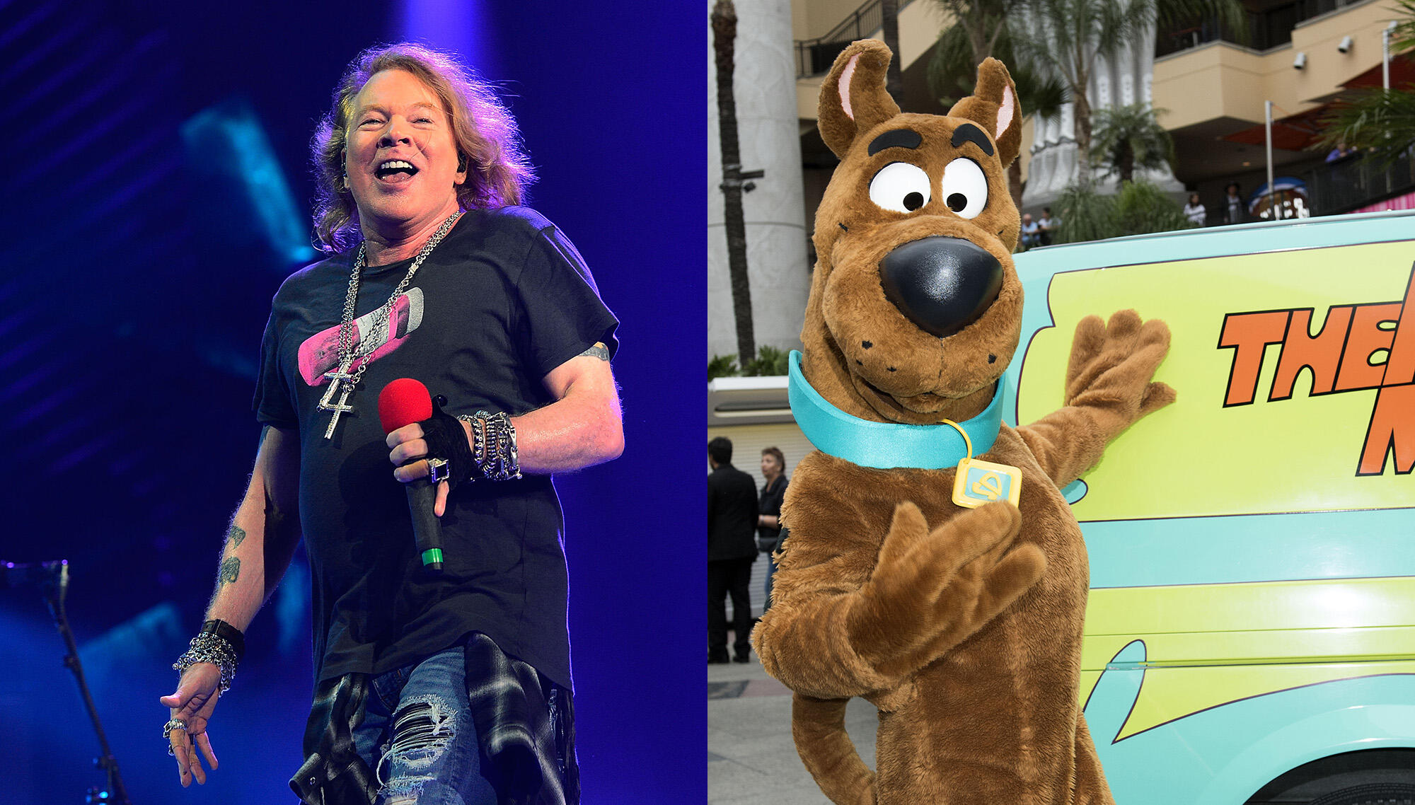 Axl Rose To Make Animated Cameo In Thursday Episode Of 'Scooby Doo'