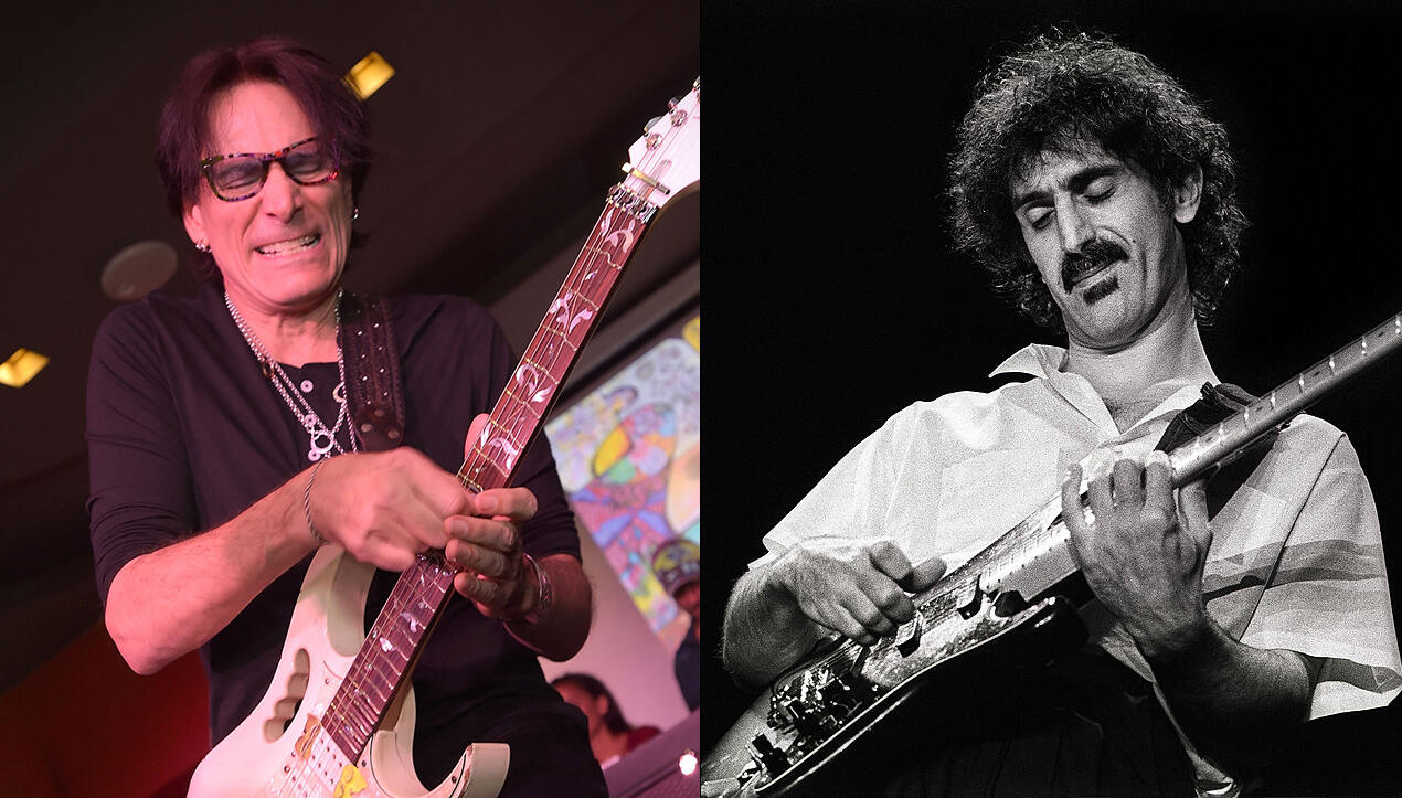 Steve Vai Recalls Frank Zappa's Brutal Review Of His Guitar Sound