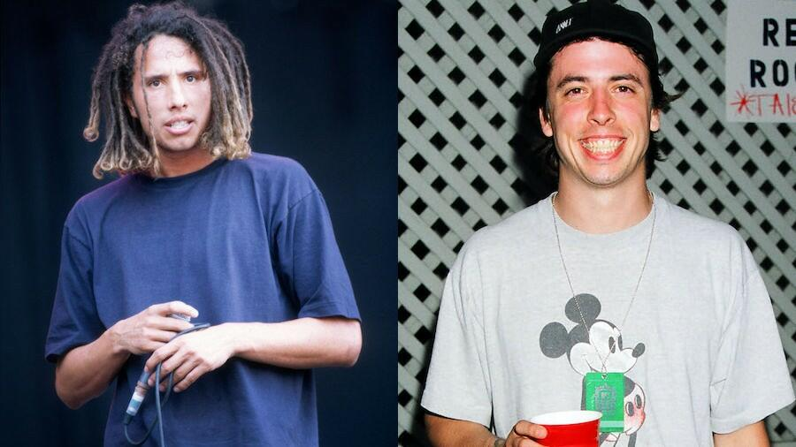 Unearthed Video Shows Zack De La Rocha And Dave Grohl Performing Together