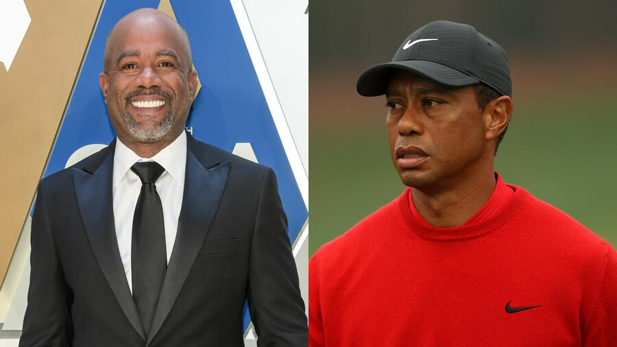 Darius Rucker Speaks Out Following His Friend Tiger Woods' Car Accident