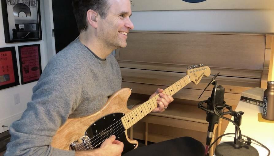Ben Gibbard Partners With Fender To Release Custom Mustang Guitar