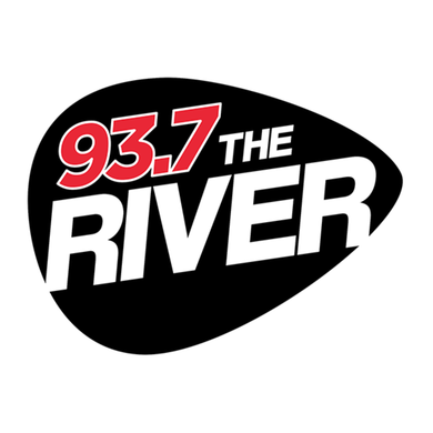 93.7 The River logo