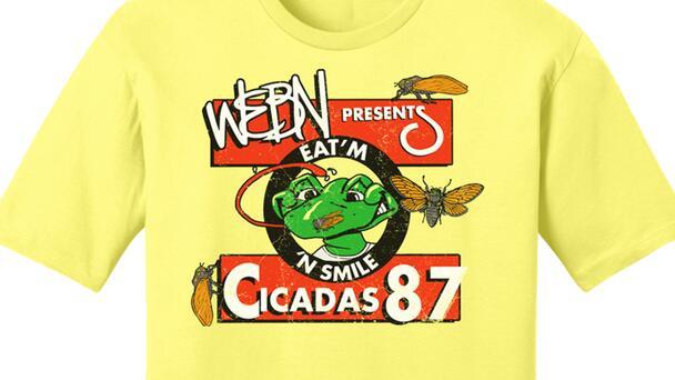 Get The WEBN Cicada Tee!