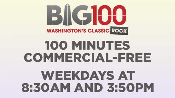 Commercial-Free Weekdays at 8:30am AND 3:50pm!