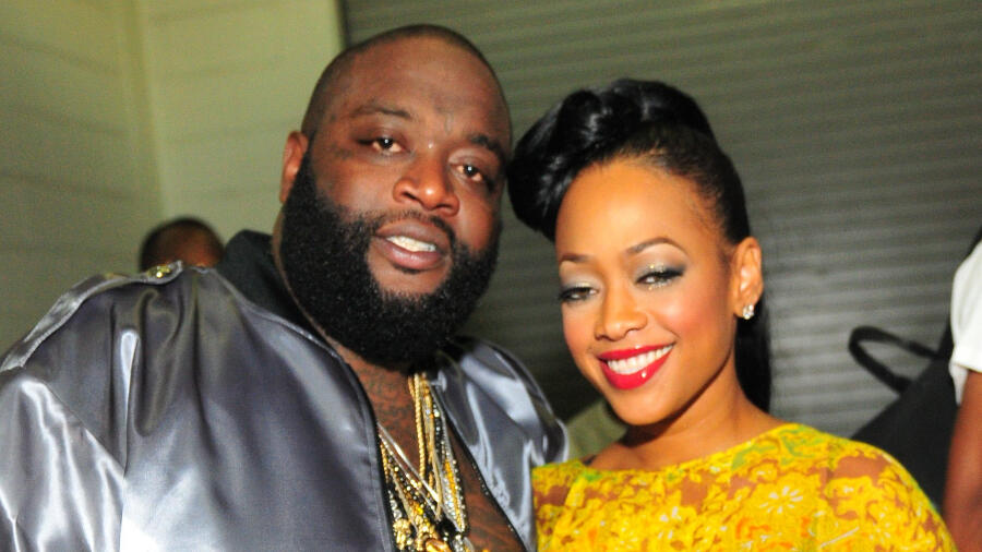 Rick Ross & Trina Spark Dating Rumors With PDA-Filled Photos