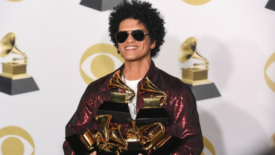 Bruno Mars' Wish To Perform At 2021 Grammys Comes True