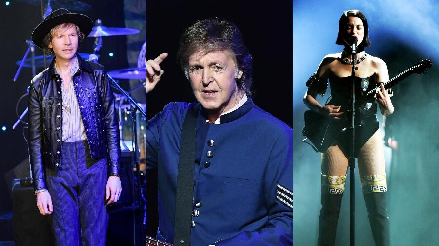 Beck, St. Vincent Are Featured On Upcoming Paul McCartney Covers Album