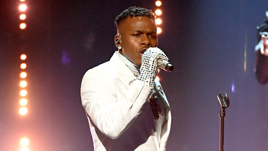 DaBaby Performs With Anthony Hamilton & Roddy Ricch At 2021 Grammy Awards