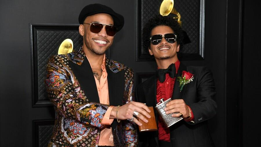 Bruno Mars & Anderson .Paak Bring Motown Vibes To 2021 Grammy Performance