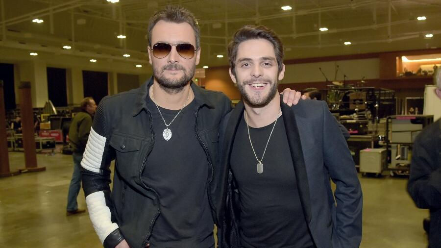 Thomas Rhett Reveals The Eric Church Song That Means The Most To Him