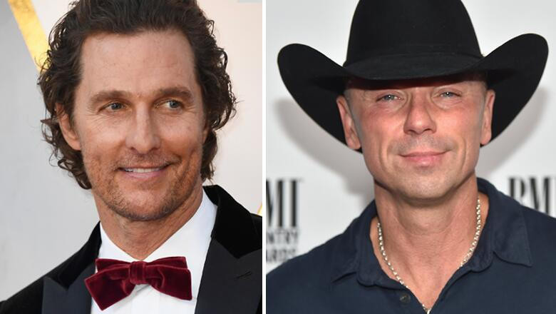 Matthew McConaughey Says Kenny Chesney Is A Good Texter