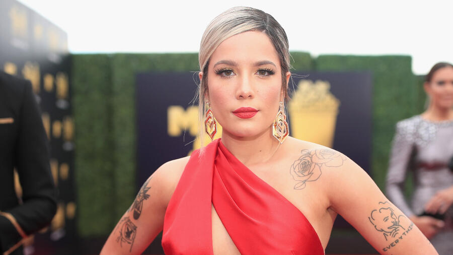 Halsey Posts Cute Photo Of Growing Baby Bump, Shares Pregnancy Update