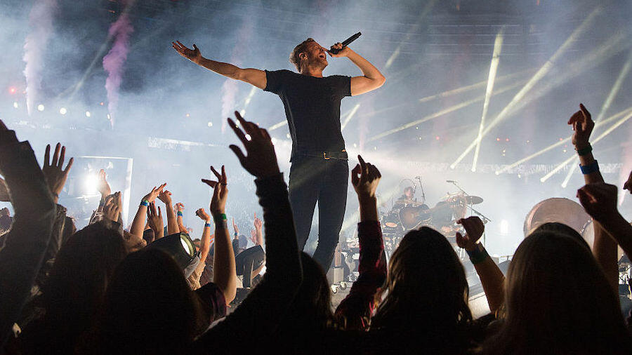 Imagine Dragons Live-Debut 'Follow You' With Intimate 'Colbert' Performance