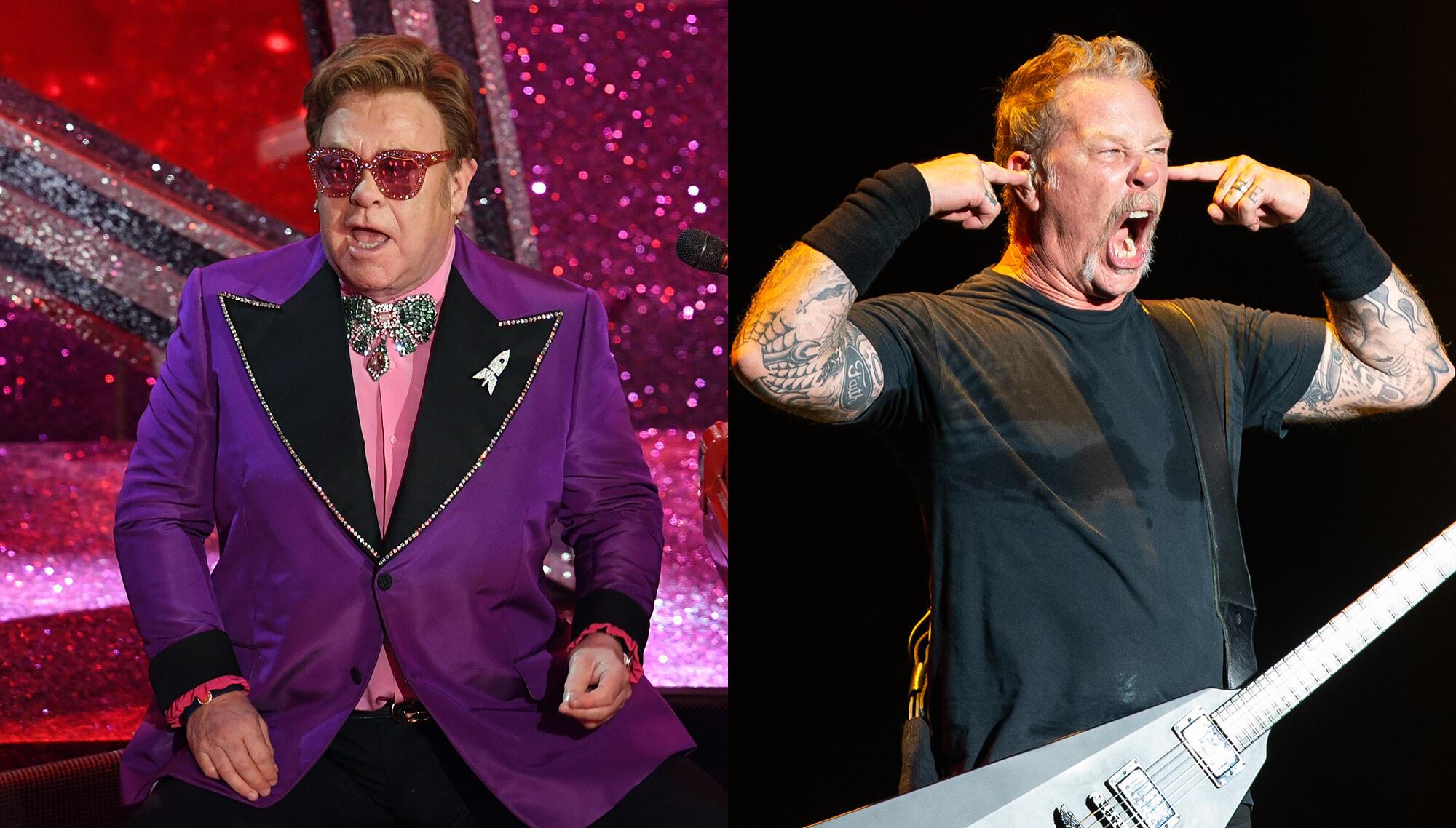 Elton John Says He Recorded With Metallica During Quarantine