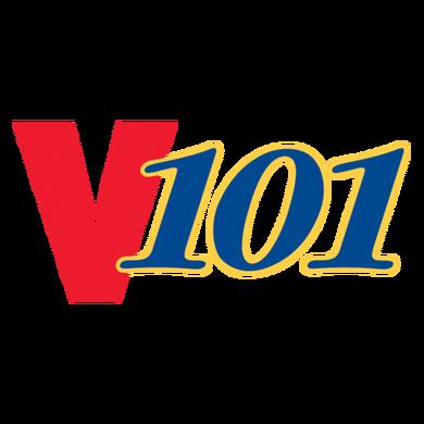 V101.1 logo