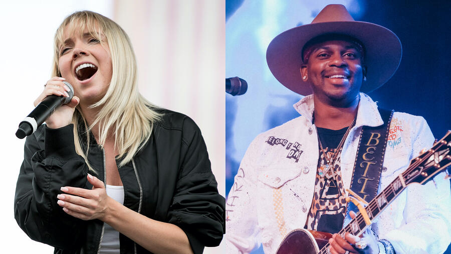 Hear Danielle Bradbery & Jimmie Allen's Breathtaking Cover Of 'No Air'