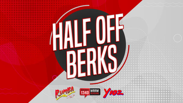 Half Off Berks! -- Get your deals for for half price!