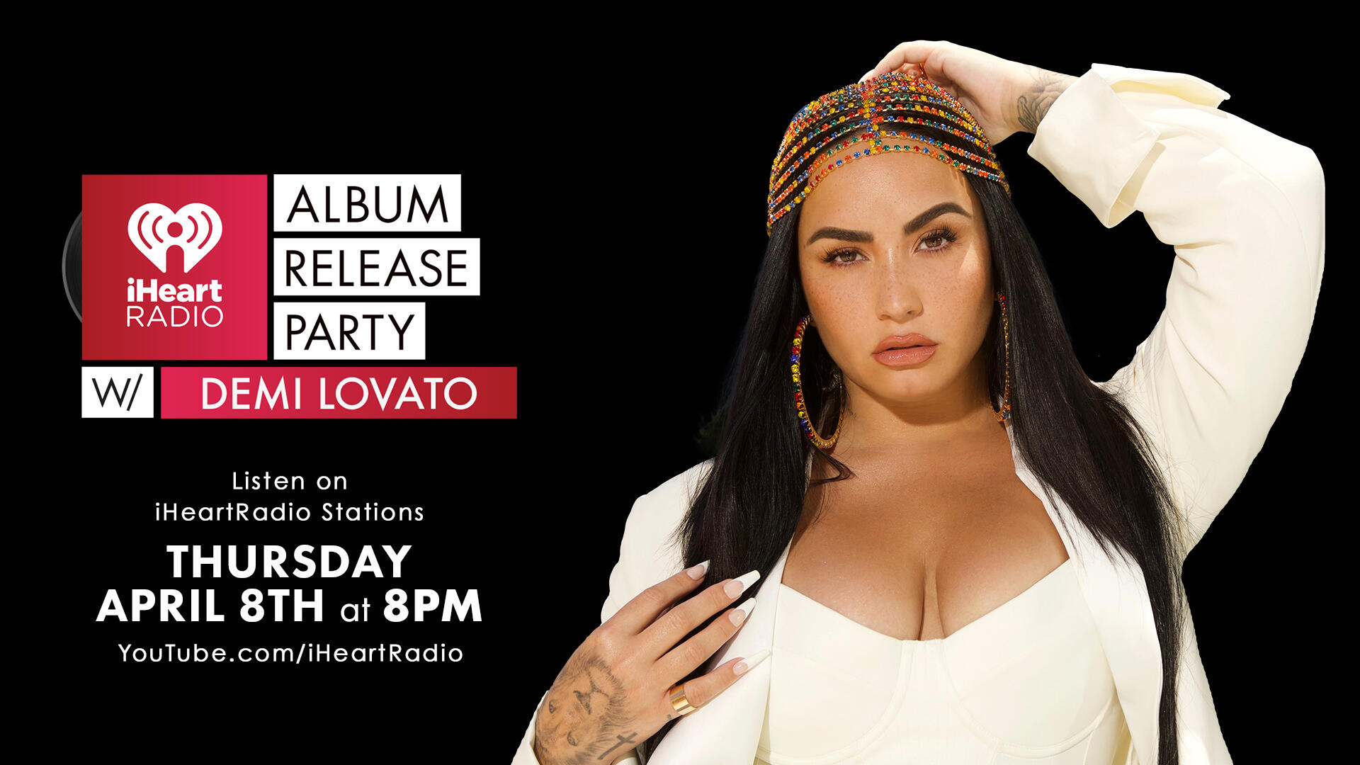 Demi Lovato's iHeartRadio Album Release Party: How To Watch