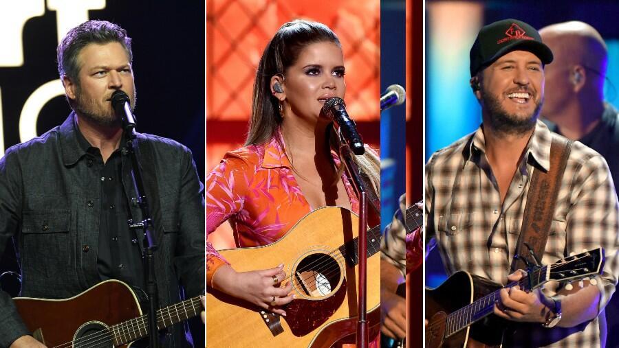2021 iHeartRadio Music Award Nominees: Blake Shelton, Maren Morris & More