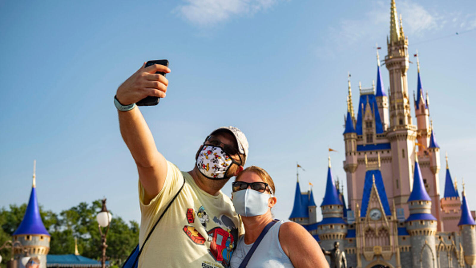 Disney World Will Allow Guests To Take Outdoor Selfies Without Masks