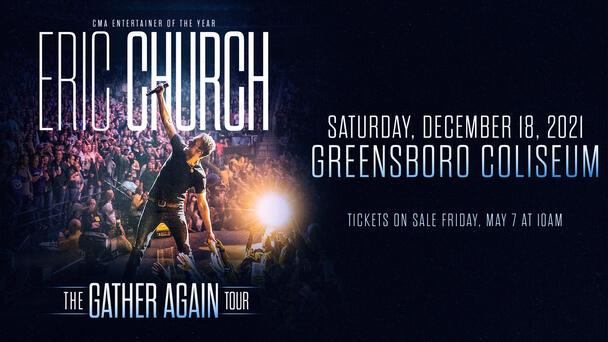 Eric Church is Coming to Greensboro