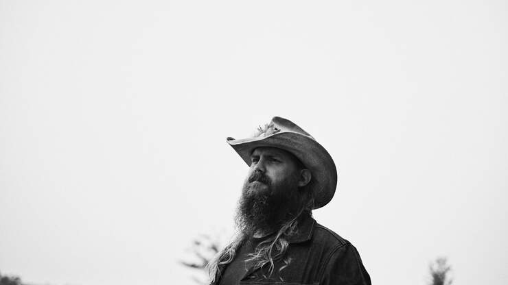 """Chris Stapleton Dreamed Up The Chorus For His Song """"Parachute"""""""