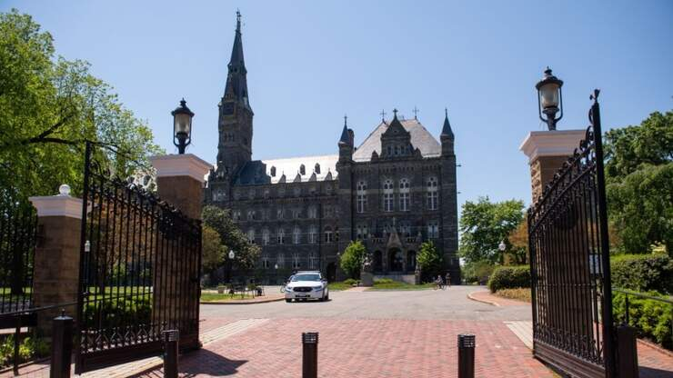 Georgetown Will Offer Degree Program To People Incarcerated In Maryland