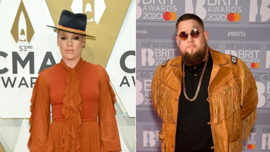 Pink Teams Up With Rag 'N' Bone Man For 'Anywhere Away From Here'