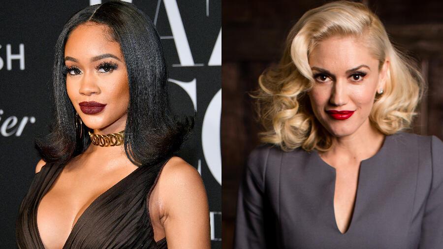 Saweetie Joins Gwen Stefani On Revamped 'Slow Clap': Watch The Video